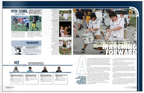 yearbook page layout pdf 28 best images about yearbook spreads modules on