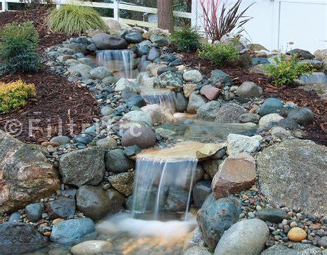 backyard pondless waterfalls pondless waterfall kits waterfalls with a clog free reservoir