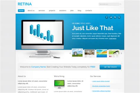 themes html css3 free html5 templates e commercewordpress
