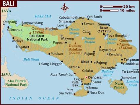 map of bali ubud hanging gardens hotel bali