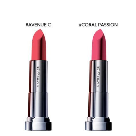 Maybelline The Powder Mattes Lipstick maybelline the powder mattes by color sensational lipstick