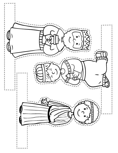 printable nativity scene puppets search results for nativity scene cutouts printables
