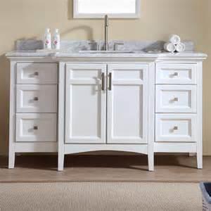 Narrow Vanity Set Ari Kitchen Bath Luz 60 Quot Single Bathroom Vanity Set