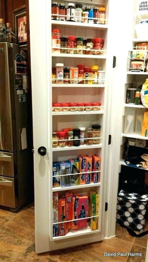 Kitchen Storage Door Racks by Pantry Door Storage Ideas Khosrowhassanzadeh