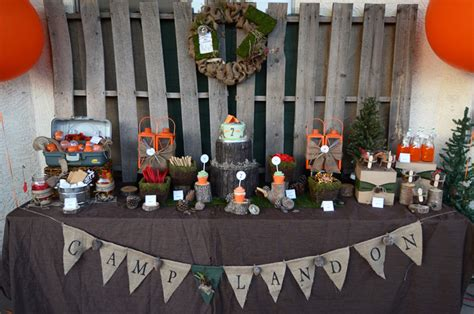backyard parties ideas a backyard cing birthday party anders ruff custom