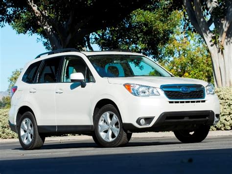 subaru family car 12 best family cars 2014 subaru forester kelley blue book