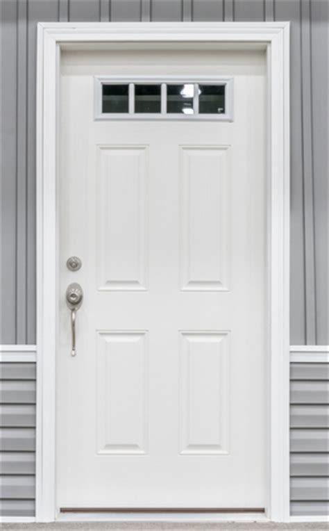 White Front Doors Exterior Doors Commodore Of Indiana