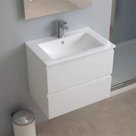 meuble salle de bain 60 cm faible profondeur plan