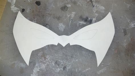 best photos of nightwing mask template printable
