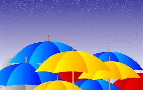imagenes libres lluvia libres paraguas bajo la lluvia vector im 225 genes