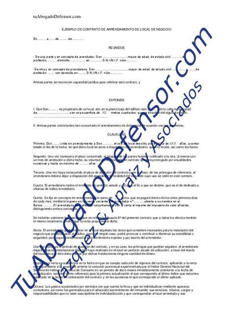 contrato de arrendamiento de vivienda 2015 modelo contrato arrendamiento vivienda 2015 download pdf