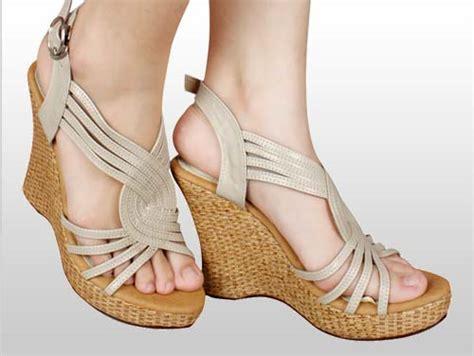 Sepatu Sandal Wedges Wanita Iskw02 Murah Terbaru sepatu wedges handmade toko sepatu wanita
