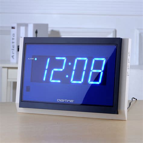 digital wall clocks big watch remote control large led digital wall clock