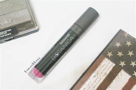 Harga Mineral Botanica Smlc review mineral botanica soft matte lip shade 006