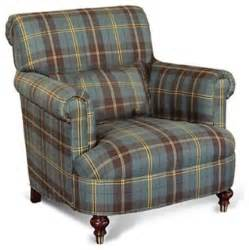 ralph lauren chair carsen sage plaid traditional armchairs and accent chairs by macy s