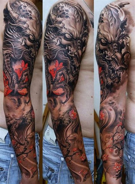 japanese tattoo full hand best full sleeve japanese tattoos for men