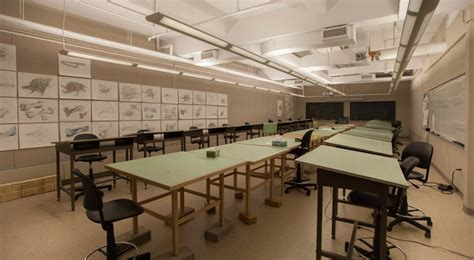 design drawing classroom kendall college  art