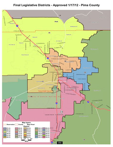 congressional districts map arizona state legislative district map my