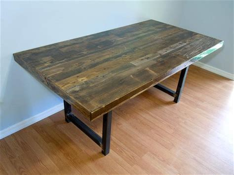 Wood Pallet Dining Table Reclaimed Wooden Pallet Dining Table Pallet Furniture Plans