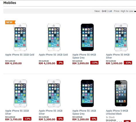 apple lazada it just gets crazier lazada malaysia prices iphone 5s