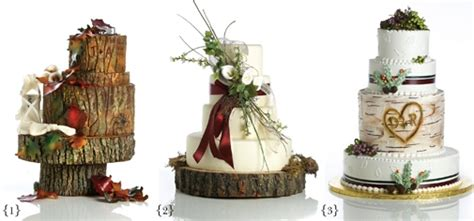 Hochzeitstorte Natur by Minnesota Nature Inspired Wedding Cakes