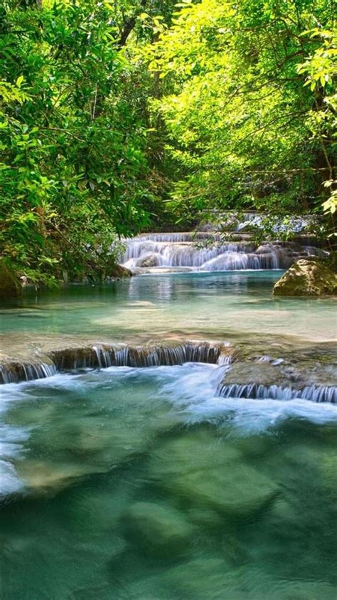nature waterfall iphone  wallpapers hd
