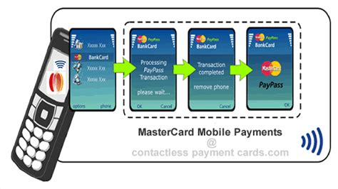contactless mobile payment mastercard mobile payments with paypass creates