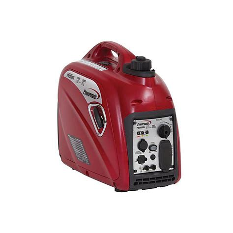 powermate 1600 watt gasoline powered portable inverter