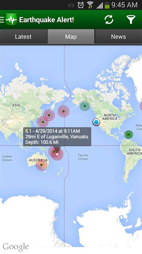 earthquake alert earthquake alert android apps on google play