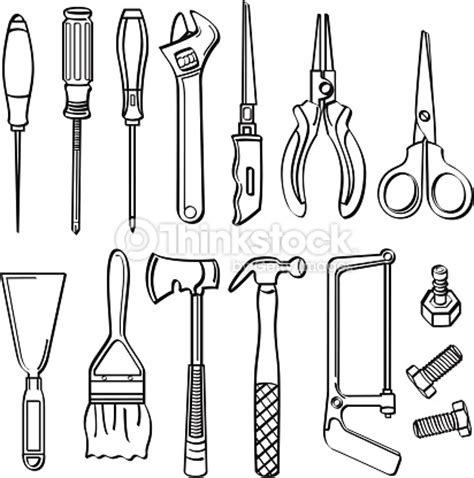 building drawing tool engineering tools clipart 9