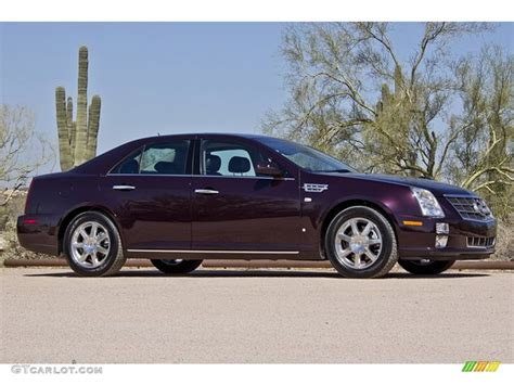 Cadillac Sts Awd by Black Cherry 2008 Cadillac Sts 4 V6 Awd Exterior Photo