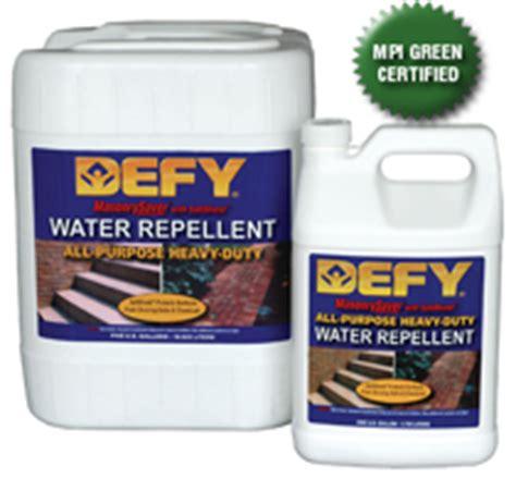 masonry saver defy heavy duty water repellent  gallon
