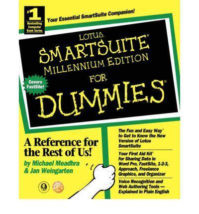what is lotus smartsuite smartsuite millennium edition for dummies jan weingarten