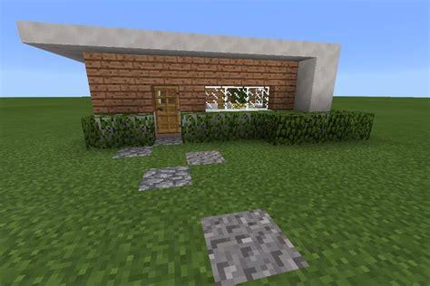 mcpe modern house my small modern house mcpe minecraft amino