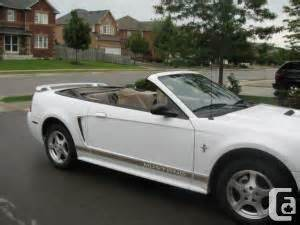 Mustang Car Cover Canadian Tire 2002 Mustang Convertible For Sale In Toronto Ontario