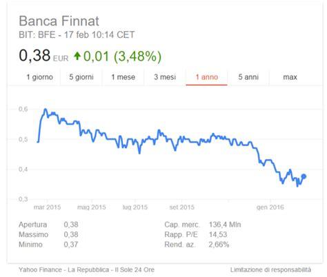 ubi valore azionario azioni finnat conviene comprare titoli della