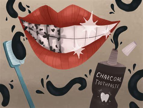 charcoal teeth whitening       work