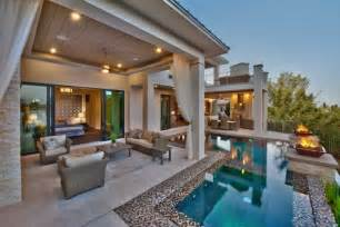 luxury patio home plans luxury indoor outdoor rooms
