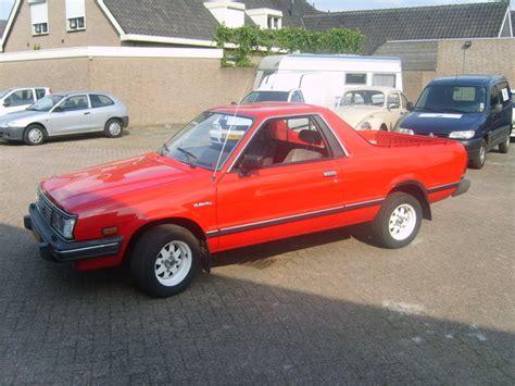 1986 Subaru 1800 4wd Pickup Brat Br 83 Gs Subaru