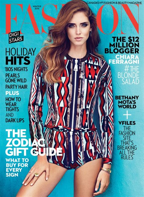 fashion magazine winter 2016 cover chiara ferragni