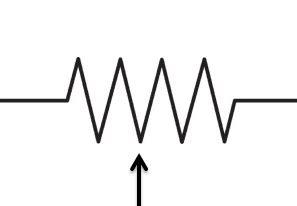 symbol for metal resistor consumer electronic servicing resistor