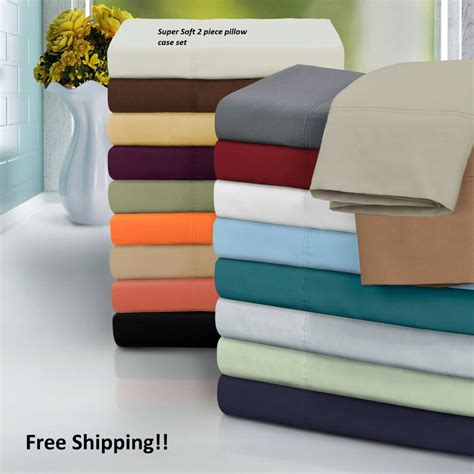 pillow casses soft series pillow standard king size