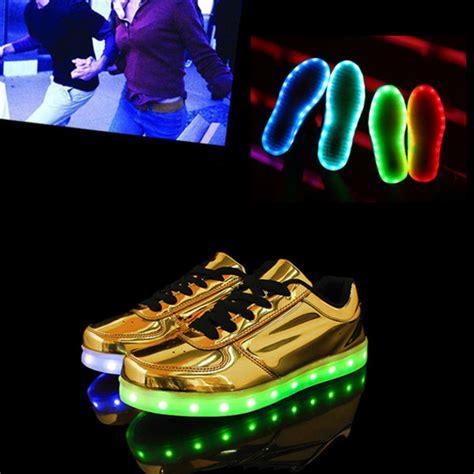 gold led light shoes shorts gold led shoes led shoes led shoes light up