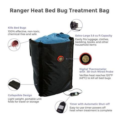 bed bug heat treatment thermalstrike ranger portable bed bug heat treatment