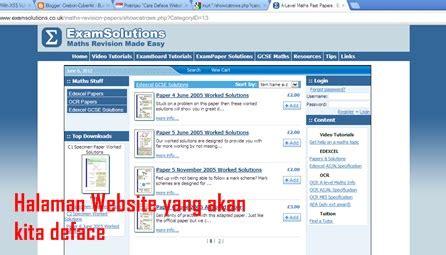 tutorial deface xss cara deface website menggunakan teknik xss vulnerability