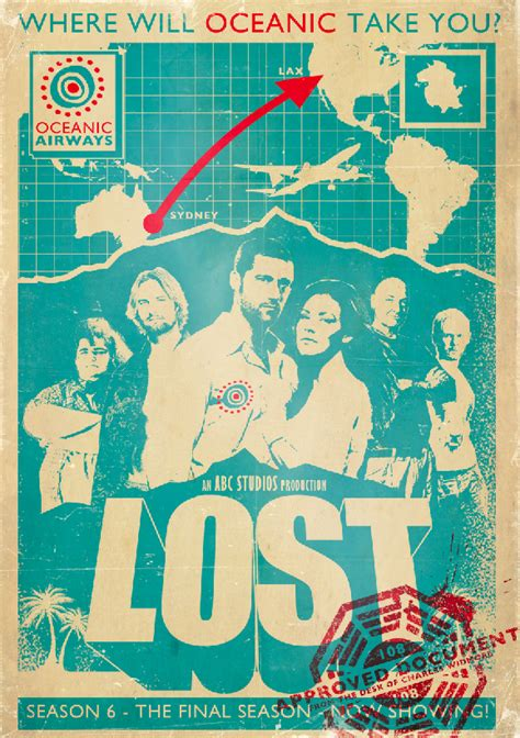 lost poster lost poster new by ameba2k on deviantart