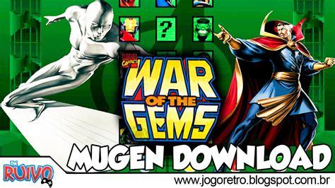 Heroes Of The Gem marvel heroes war of the gems mugen 2016