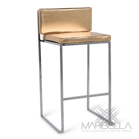gold bar stools paramount gold bar stool black