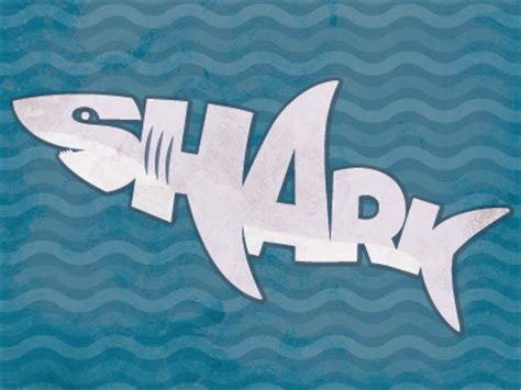 baby shark word play shark type by rosemary pritchard dribbble