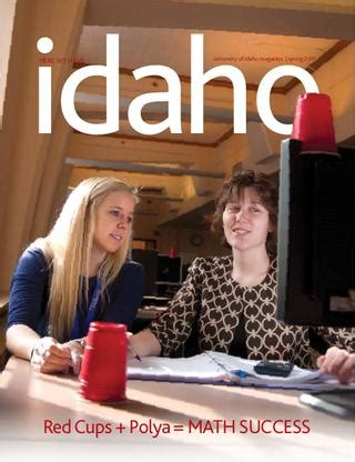 idaho spring    university  idaho issuu